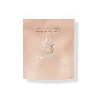 Omorovicza 蜜桃潔顏卸妝棉片補充包 60入