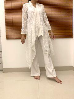 [Rental Baju] Kebaya Putih candrika