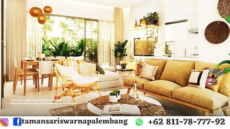 Rumah Mewah Tamansari Swarna Palembang