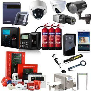 Security systems supply and installation