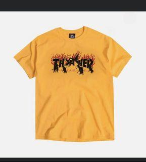 Thrasher 正版 T-shirt 短踢 短袖 只穿過一次