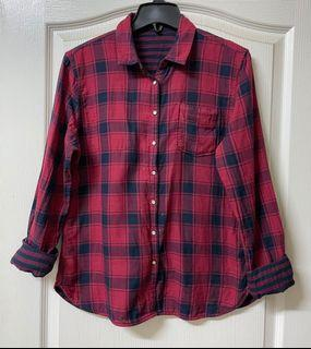 Timberland女款兩面穿長袖襯衫