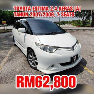 Toyota Estima 2.4 Aeras (Auto)