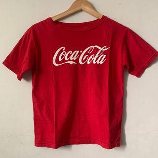 可口可樂T-shirt 紅色 短袖