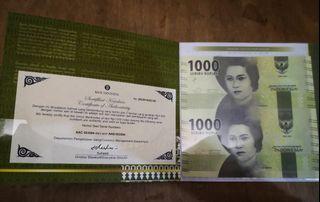 Uncut 1000 rupiah