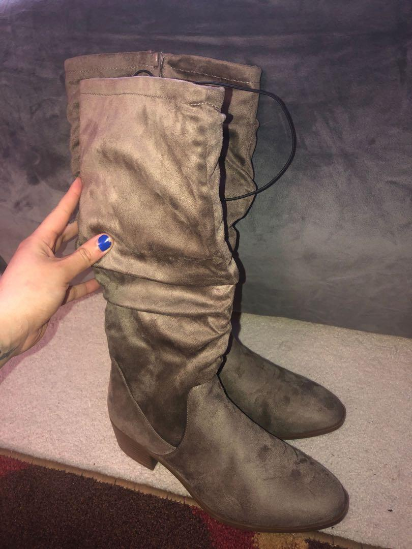 Women's Soft Brown Boots