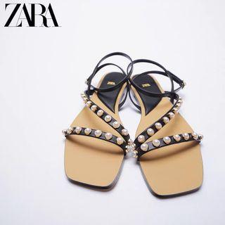 Zara -125 Flat Strap Studded shoes
