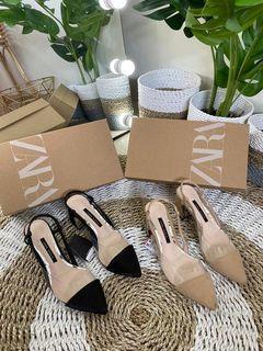Zara - 127 Transparant Vinyl Heels
