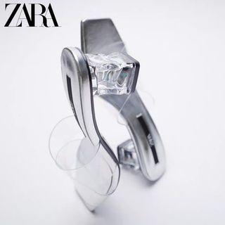 Zara - 523 Transparant glass vinyl heels