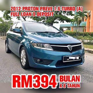 2012 Proton Preve 1.6 Turbo (Auto)
