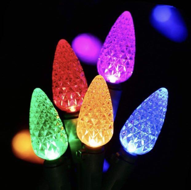 50 LED 16ft Strawberry String Lights