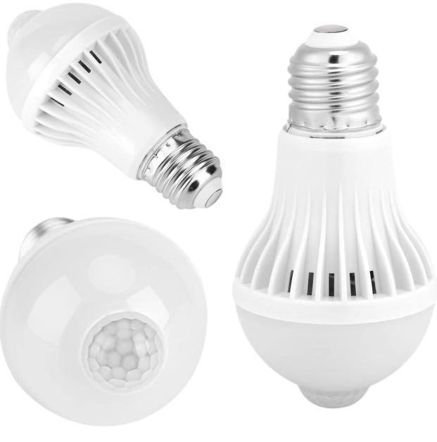 5W-E27 Motion Sensor LED Bulb
