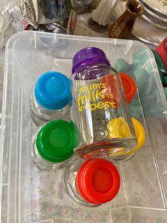 6 pcs Botol ASI