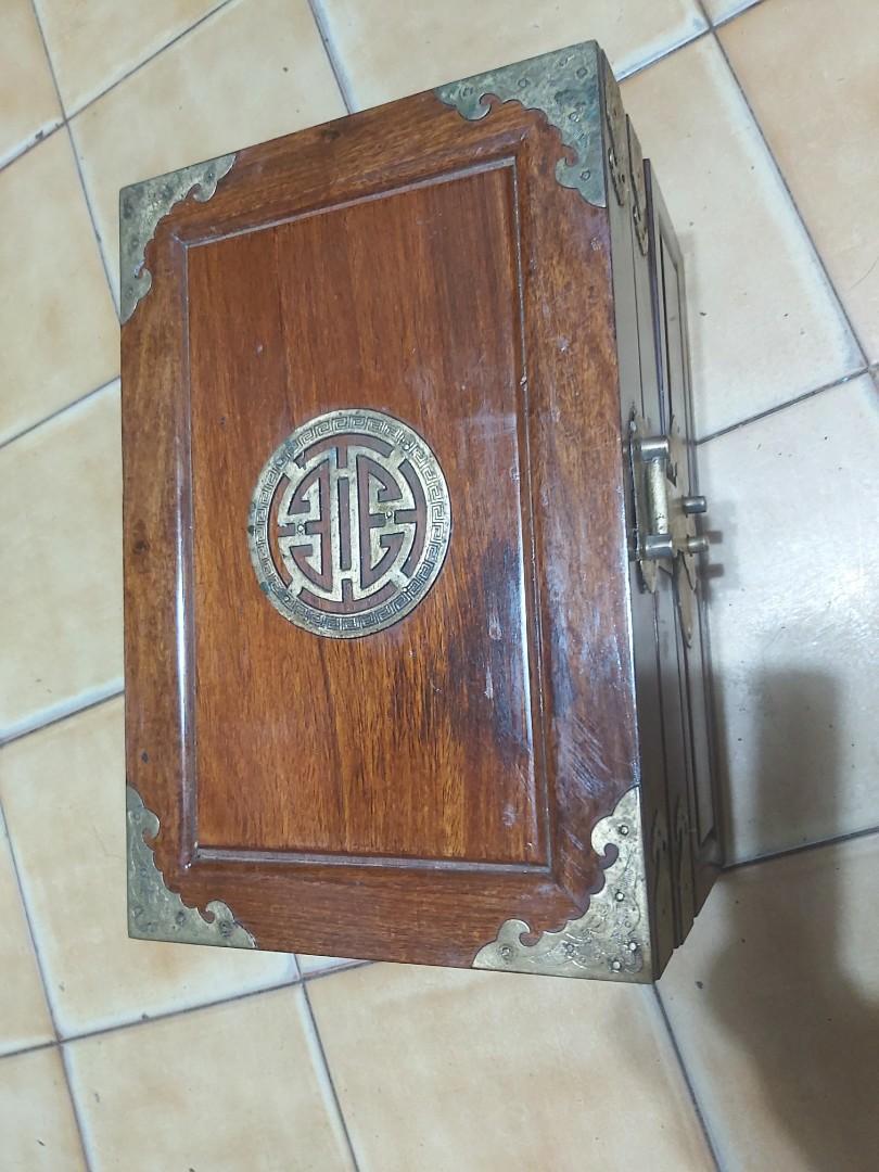 紅檜木  珠寶盒