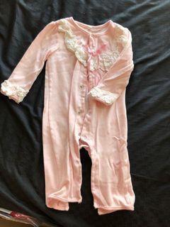 女寶 嬰兒 幼兒 夢幻可愛春夏連身睡衣 連身衣