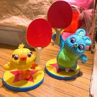 玩具總動員 扭蛋 合售 皮克斯球 皮克斯 鴨霸 兔崽子 運動會 三眼仔