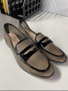 (僅穿一次) 🔥 大出清 ALDO 超可愛 透明 平底鞋🥿