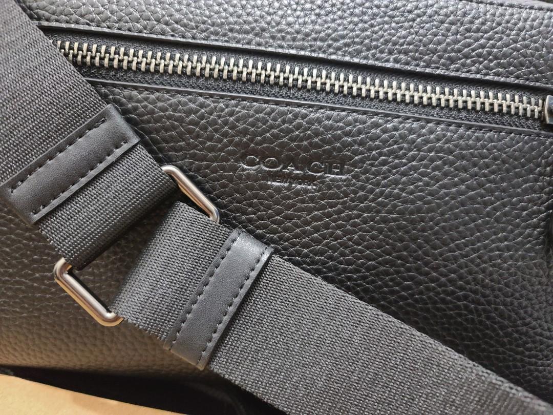 精品包 側背 coach 正品 代購回來 現貨 荔枝紋 1顆 防塵袋 提袋