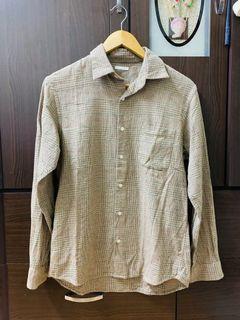 男裝👨🏻 🔥九成新   Gu  法蘭絨襯衫