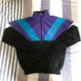 Adidas 古著 拼色 運動外套