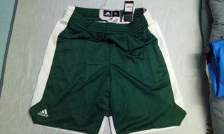 正品全新Adidas XL號運動籃球短褲