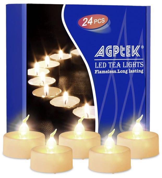 AGPTEK Flameless LED Tea Lights
