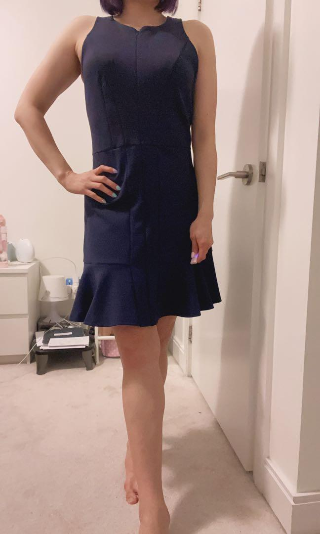 Armani Exchange Navy Dress size 8