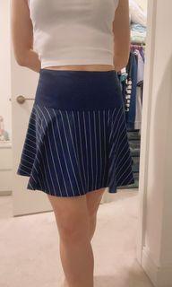 Armani Exchange navy skirt size 6