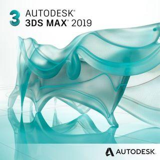 Autodesk 3DS Max 2019 1 Year Windows Software License