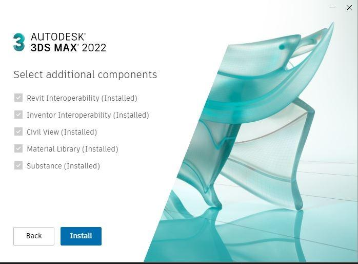 Autodesk 3DS Max 2022 1 Year Windows Software License