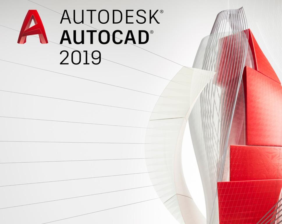 Autodesk Autocad 2019 1 Year Windows Software License
