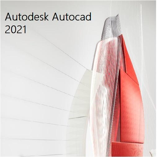 Autodesk Autocad 2021 1 Year Windows Software License