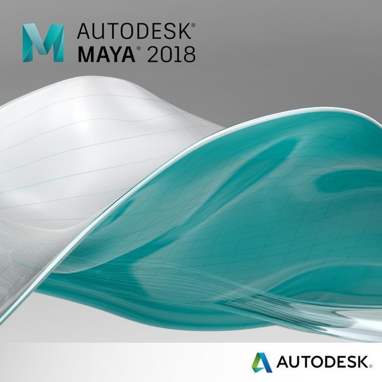 Autodesk MAYA 2018 1 Year Windows Software License
