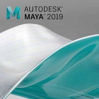 Autodesk MAYA 2019 1 Year Windows Software License