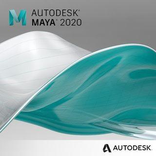 Autodesk MAYA 2020 1 Year Windows Software License