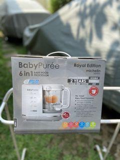 Baby food processor, new ex kado