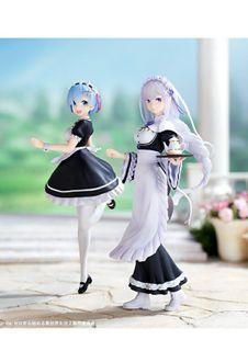 ((Bundle Only)) Zero kara Hajimeru Isekai Seikatsu - Rem and Emilia - Ichiban Kuji