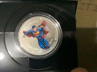 Canadian Superman coin