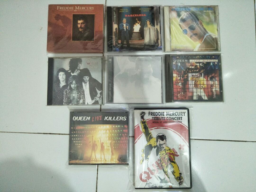 CD Queen Freddie Mercury