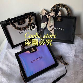 Chanel皮革紙袋包