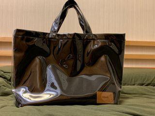 日本時尚品牌CLANE透明面托特包