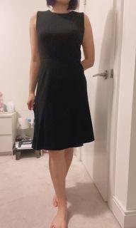 DKNY black dress size 4