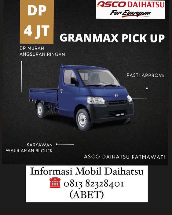 DP RINGAN Daihatsu Pick Up mulai 4 jutaan. Daihatsu Fatmawati