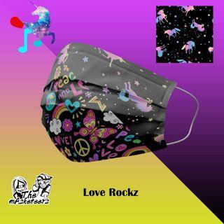 Exclusive Mask Design Unicorn & Love Rockz