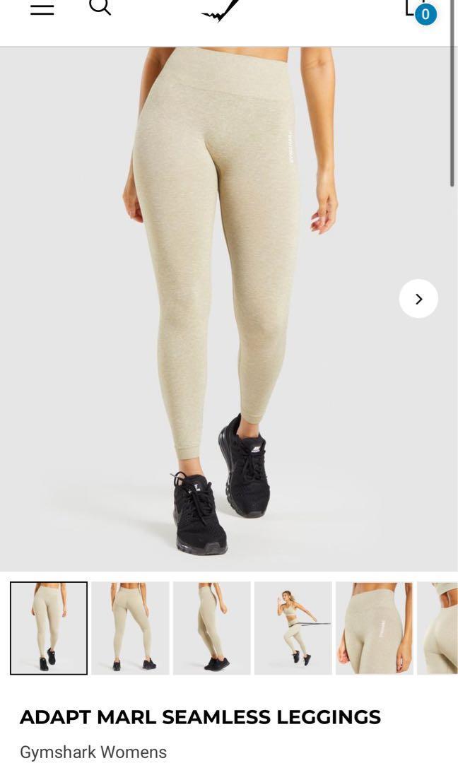 Gymshark Adapt Marl Seamless Leggings