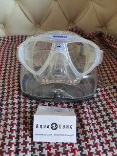 Kacamata SCUBA Aqua Lung original