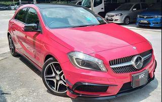 MERCEDES BENZ A180 AMG WITH A45 BODYKITS