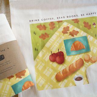 picnic cavas tote bag / tas kanvas