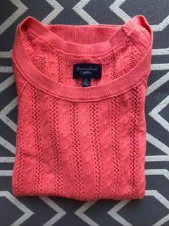 Pink American Eagle Sweater