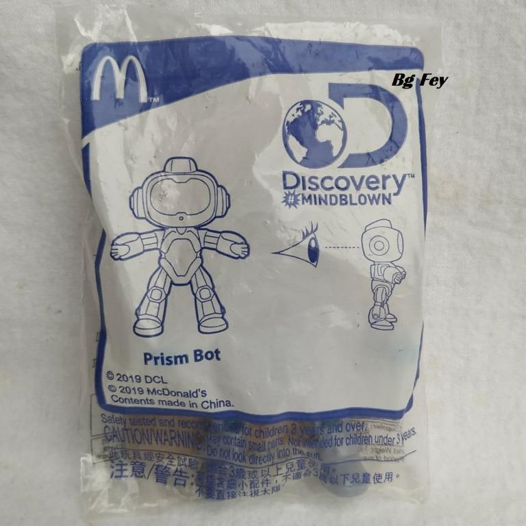 Prism Bot - Discovery Mindblown Happy Meal Mc Donald 2019